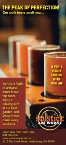 Ad for brewery