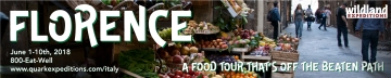 Ad for food tour of Florence